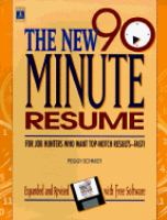 The New 90-minute Resume