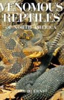 Venomous Reptiles of North America
