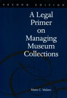 A Legal Primer on Managing Museum Collections