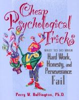 Cheap Psychological Tricks