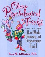 Cheap Psychological Tricks
