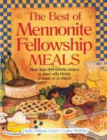 The Best of Mennonite Fellowship Meals
