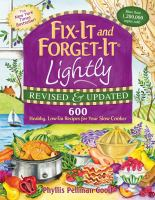 Fix-it and Forget-it Lightly