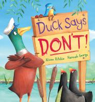 Duck Says Don't!