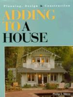 Adding to A House