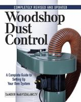 Woodshop Dust Control