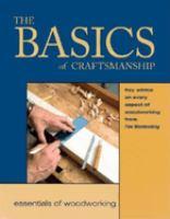The Basics of Craftsmanship