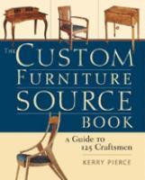The Custom Furniture Source Book