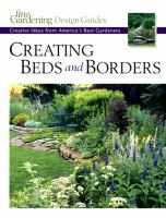Creating Beds and Borders