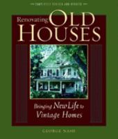 Renovating Old Houses