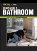 Renovating A Bathroom