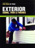 Exterior Siding, Trim, and Finishes