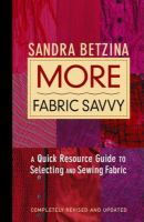 More Fabric Savvy