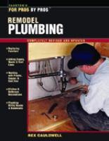 Remodel Plumbing