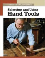 Selecting and Using Hand Tools