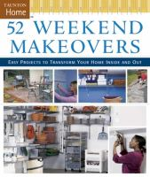 52 Weekend Makeovers