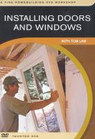 Installing Doors and Windows