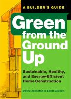 Green From the Ground up