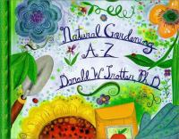 Natural Gardening A-Z