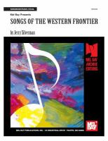Mel Bay Presents Songs of the Western Frontier