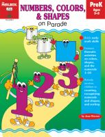 Numbers, Colors, & Shapes on Parade
