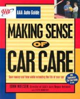 Making Sense of Car Care
