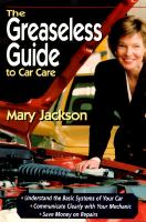 The Greaseless Guide to Car Care
