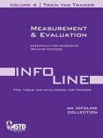 Measurement & Evaluation