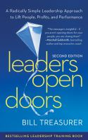 Leaders Open Doors