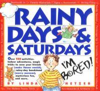 Rainy Days & Saturdays