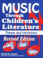 Music Through Children's Literature