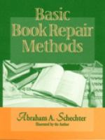 Basic Book Repair Methods