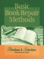 Basic Book Repair Methods