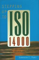 Stepping up to ISO 14000