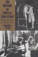 The History of Special Education