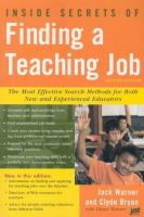 Inside Secrets of Finding A Teaching Job