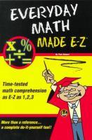Everyday Math Made E-Z
