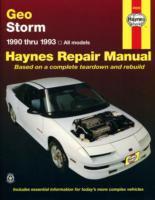 Geo Storm Automotive Repair Manual