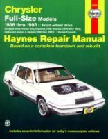 Chrysler Full-size Front Wheel Drive Automotive Repair Manual