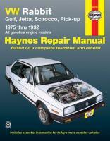 VW Automotive Repair Manual