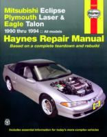 Plymouth Laser, Eagle Talon, Mitsubishi Eclipse Automotive Repair Manual