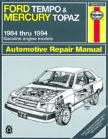 Ford Tempo & Mercury Topaz Automotive Repair Manual