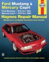 Ford Mustang, Mercury Capri Automotive Repair Manual