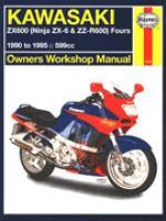 Kawasaki ZX600 (Ninja ZX-6 & ZZ-R600) Fours Owners Workshop Manual