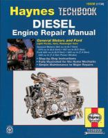 Diesel Engine Repair Manual