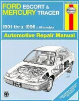 Ford Escort &•and– Mercury Tracer Automotive Repair Manual