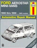 Ford Aerostar Mini-vans Automotive Repair Manual