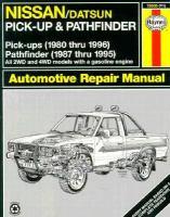 Nissan Pick-ups Automotive Repair Manual