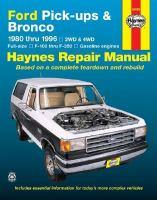 Ford Pick-ups & Bronco Automotive Repair Manual