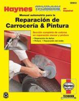Manual automotriz de Haynes para la reparación de la carrocería y pintura